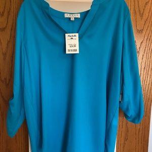 Chaus Baby Blue Dress Shirt